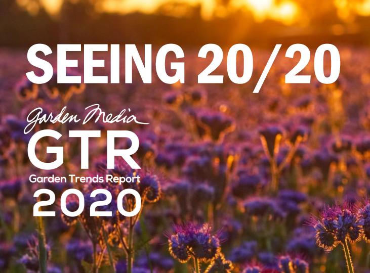 Demographic Trends 2020.Garden Media Group S 2020 Garden Trends Report Seeing 20 20